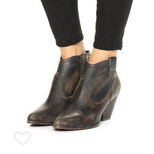 Frye Reina Western Booties